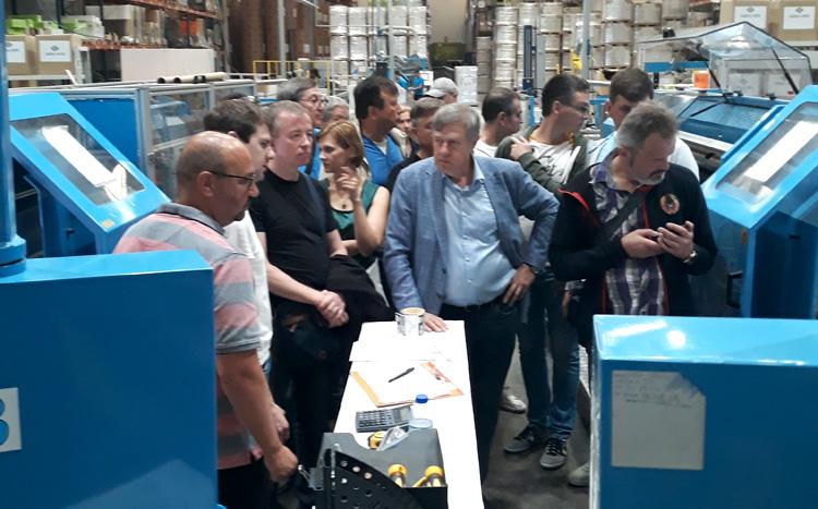Distribuidores Xerox EurAsia visitam Clipouro